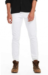 Scotch & Soda Clothing, Ralston Garment Dyed Regular Slim Fit Jeans - White