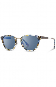 Ainsworth Sunglasses - Blue Nebula/Blue Flash