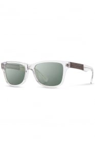 Canby Sunglasses - Crystal/Elm Burl