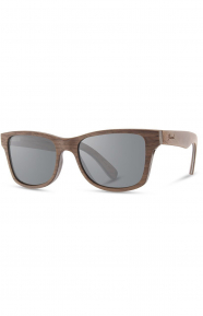 Canby Sunglasses - Walnut/Grey