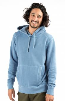 Vinyl Pullover Hoodie - Washed Blue