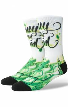 Airbrush Money Socks - Multi