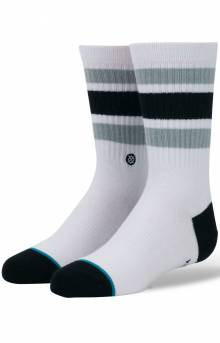 Boyd 4 Socks - White