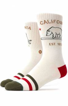California Republic Socks - Cream