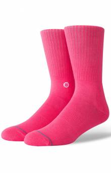 Icon Socks - Neon Pink