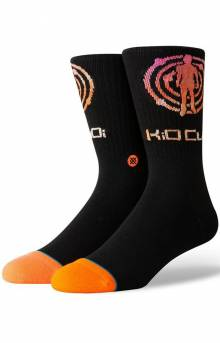 Kid Cudi Logo Socks - Black