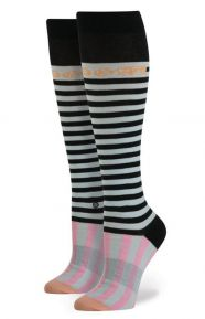 Stance x Rihanna Clothing, Candy Bars Tall Boot Women's Sock - Blue
