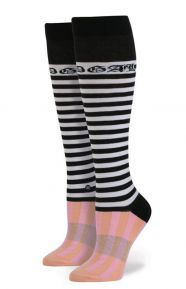 Stance x Rihanna Clothing, Candy Bars Tall Boot Women's Sock - Pink