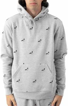 Allover Pigeon Pullover Hoodie - Heather