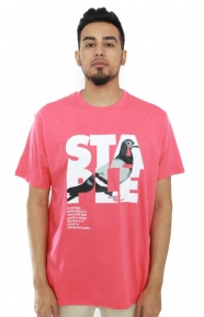 Staple Clothing, Definition Pigeon T-Shirt - Red
