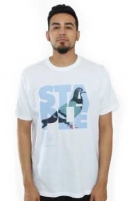 Staple Clothing, Definition Pigeon T-Shirt - White