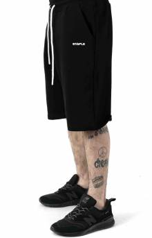 Loopback Sweatshort - Black