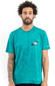 Staple Clothing, Overdye Pigeon Pocket T-Shirt - Teal
