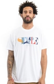 Staple Clothing, Partition Pigeon T-Shirt - White