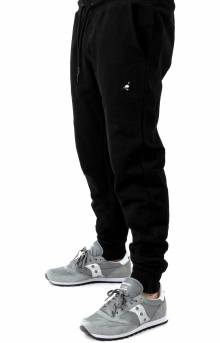 Pigeon Embroidered Sweatpant - Black