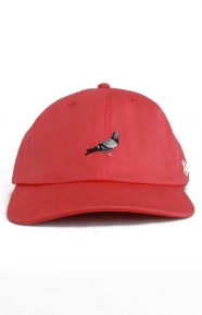 Staple Clothing, Pigeon Script Strap-Back Hat - Pink