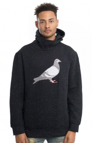 Staple Clothing, Speckled Pigeon Pullover Hoodie - Black