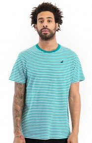 Staple Clothing, Stripe Pigeon T-Shirt - Teal