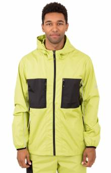 3M Nylon Paneled Jacket - Lime