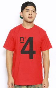 4 T-Shirt - Red