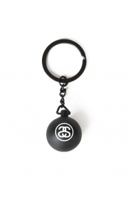 Stussy Clothing, 8 Ball Keychain