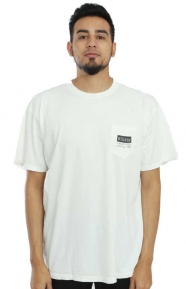 Classic Roots Pigment Dye Pocket T-Shirt - Naural