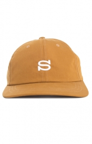 Stussy Clothing, Cotton Nylon Strap-Back Hat - Mustard