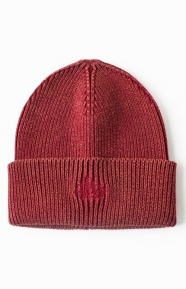 Stussy Clothing, Dye & Wash Cuff Beanie - Red