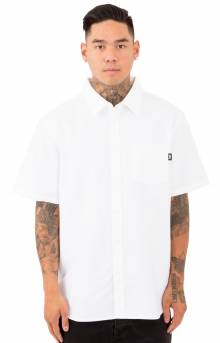 Frank Oxford S/S Button-Up Shirt - White