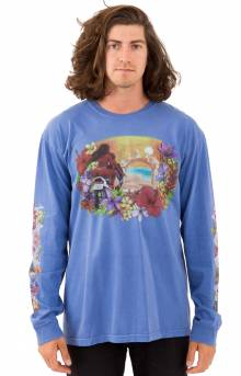 Hellshire Pigment Dyed L/S Shirt - Blue