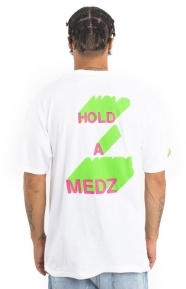 Hold A Medz T-Shirt - White