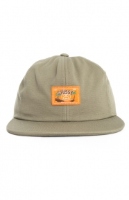 Stussy Clothing, Jungle Cloth Strap-Back Hat - Olive