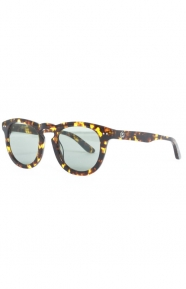 Stussy Clothing, Luigi Sunglasses - Tortoise/Green