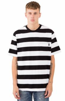 Nolan Stripe Jersey - Black