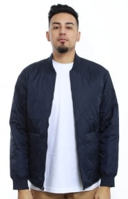 Stussy Clothing, Quilted Military Jacket - Navy