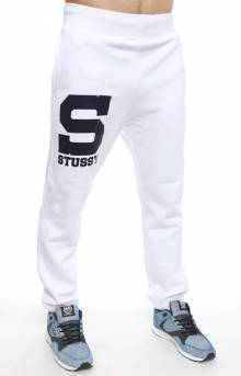 S Stussy Sweatpants - White
