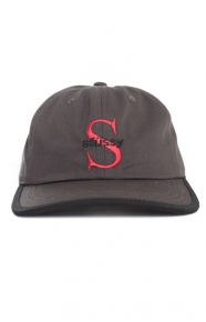 Stussy Clothing, S Times Dad Hat - Black