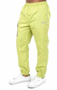 Side Pocket Nylon Pant - Lime