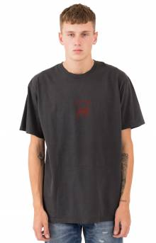 Stock Lion Pigment Dyed T-Shirt - Black