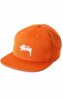 Stock Lock Snap-Back Hat - Orange