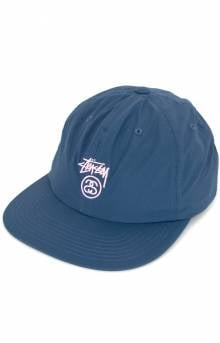 Stock Lock Taslan Strap-Back Cap - Navy