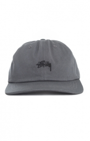 Stussy Clothing, Stock Low Dad Hat - Charcoal