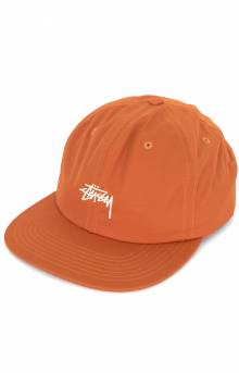 Stock Poly Cotton Snap-Back Hat - Orange