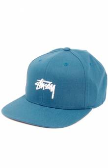 Stock Snap-Back Hat - Teal