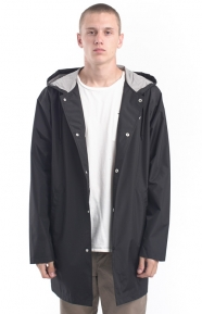 Stussy Summer Long Hooded Coaches Jacket - Black
