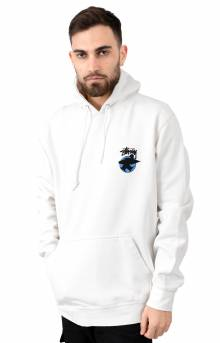 Surfman Dot Pigment Pullover Hoodie - Natural