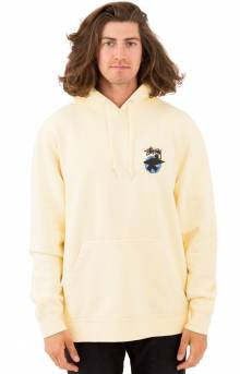 Surfman Dot Pigment Pullover Hoodie - Yellow