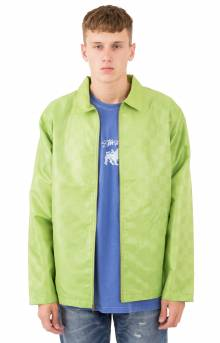 Tonal Check Jacket - Lime
