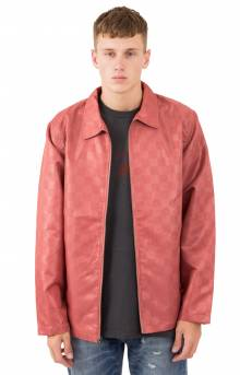 Tonal Check Jacket - Rose