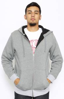 Training Day Zip-Up Hoodie - Grey